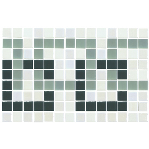 Frise piscine vert nacré 36x23 cm 2003393 Cenefa 21 - unité Onix