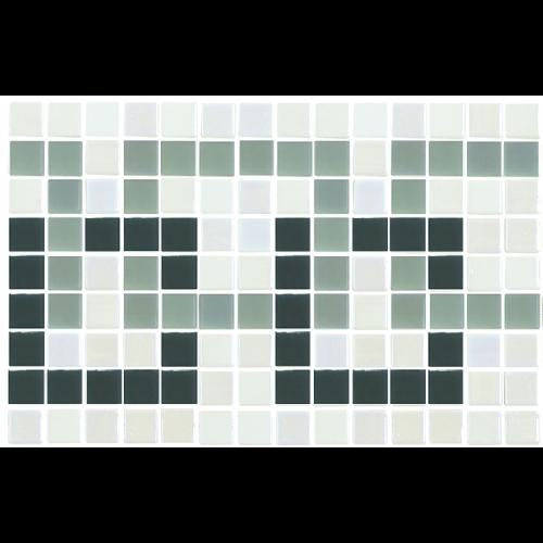 Frise piscine vert nacré 36x23 cm 2003393 Cenefa 21 - unité - zoom