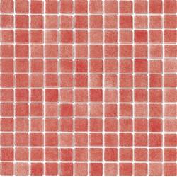 Mosaique piscine Nieve rouge nuancé 3011 31.6x31.6 cm - 2 m² AlttoGlass