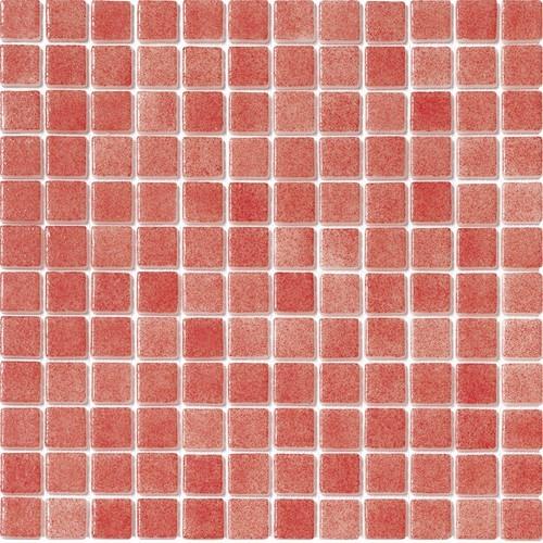 Mosaique piscine Nieve rouge nuancé 3011 31.6x31.6 cm - 2 m² - zoom