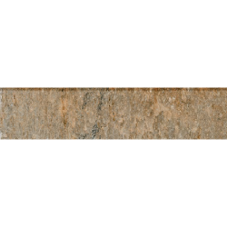 Plinthe imitation pierre beige nuancé Sikkim 8x44 cm - 4.47mL