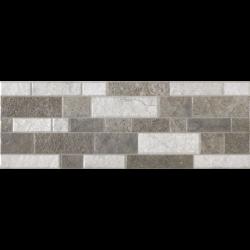 Parement mural bloc gris Block Calicut 17.50x50 cm - 1.31m²
