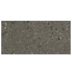 Carrelage anthracite imitation pierre rectifié 60x120cm HANNOVER BLACK -R10- 1.44m²