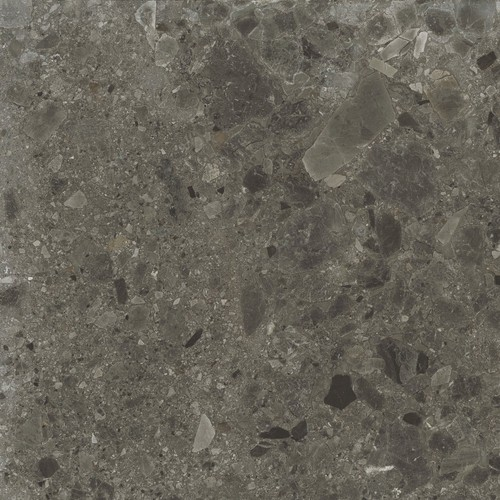 Carrelage anthracite imitation pierre rectifié 60x60cm HANNOVER BLACK -R10- 1.08m² - zoom