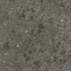 Carrelage anthracite imitation pierre rectifié 80x80cm HANNOVER BLACK NATURAL - 1.28m² - zoom