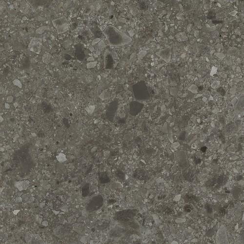 Carrelage anthracite imitation pierre rectifié 80x80cm HANNOVER BLACK NATURAL - 1.28m² - zoom