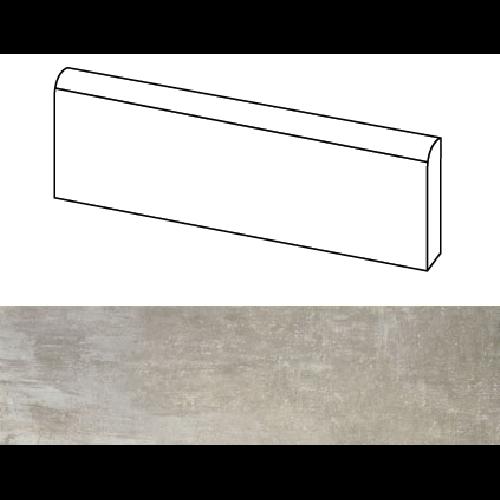 Plinthe intérieur Cement 8x40 cm - 4 mL Baldocer