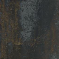 Carrelage Antares noir 50N rouille métallisé 50x50 cm - 1m²