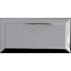 Carrelage Métro Argent miroir 10x20 cm - unité Ribesalbes