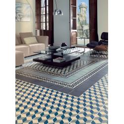 Carrelage imitation ciment cube 20x20 cm GUELL - 1m² Vives Azulejos y Gres