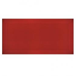 Carreau métro Rouge brillant 7.5x15cm - 1m²