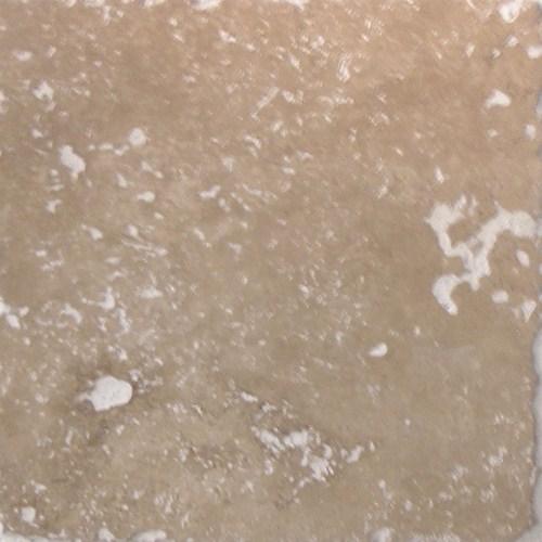 Carrelage pierre Travertin vieilli noce 15x15 cm - 1m² - zoom
