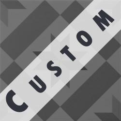Carreau imitation ciment personnalisable 20x20 cm CUSTOM ÉTOILE - 0.96m²
