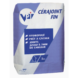 Cérajoint fin blanc joint carrelage 5 kg