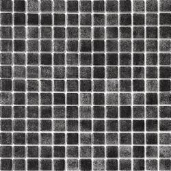Mosaique piscine nuancée noir antidérapante 3101 31.6x31.6 cm - 1 m² AlttoGlass