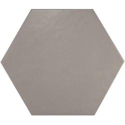 Carrelage hexagonal 17.5x20 Tomette design HEXATILE GRIS UNI 20340 – 0.71m² ASDC