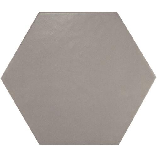 Carrelage hexagonal 17.5x20 Tomette design HEXATILE GRIS UNI 20340 – 0.71m² Equipe