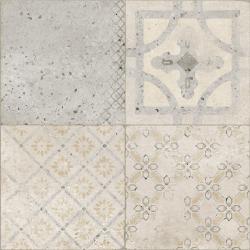 Carrelage imitation ciment léger taupe 60x60 cm SAVONA - 1.44m² Arcana