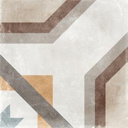 Carrelage imitation carreau de ciment ancien décor Grès Cérame 60x60 cm CELENO - 1 Arcana