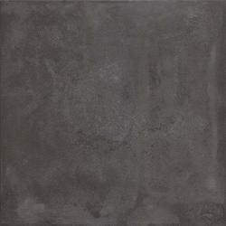 Carrelage technique UPEC effet Béton ICON UNI BLACK 80x80cm rect-1.29m²