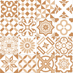 Carrelage imitation ciment beige et blanc mix 20x20 cm ANTIGUA BEIGE - 1m² Ribesalbes