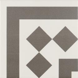 Carrelage d'angle 20x20 cm ANTIGUA GRIS - unité Ribesalbes