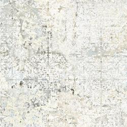 Carrelage décor floral vieilli CARPET SAND NATURAL 59.2x59.2 cm - 1.402m²