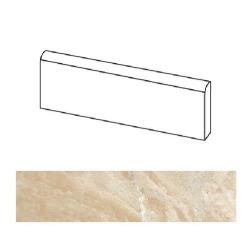 Plinthe imitation marbre Brecha Beige 9.4x44.3 cm - 10.19 ml