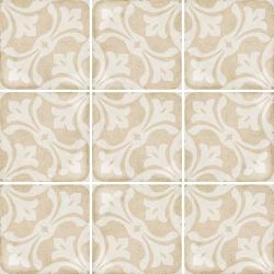 Carrelage style ciment beige 20x20 cm ART NOUVEAU LA RAMBLA BISCUIT 24408 - 1m² Equipe