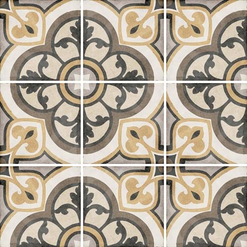Carrelage style ciment 20x20 cm ART NOUVEAU MAJESTIC COLOURS 24402 - 1m² - zoom