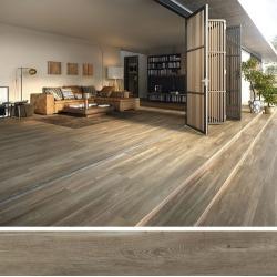 Carrelage extérieur effet bois 20x160 BELFAST WALNUT ANTIDERAPANT R11 - 1.28 m² Baldocer