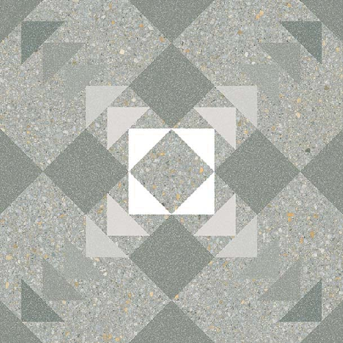Carrelage style Pop/Seventies inspiration Art Déco 20x20 cm BENACO MAR – 1m² Vives Azulejos y Gres