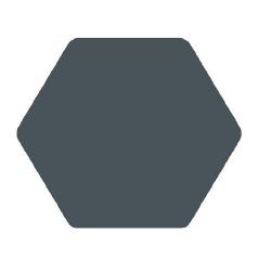 Carrelage tomette bleu 25x29cm TOSCANA AZUL - 1m² Bestile