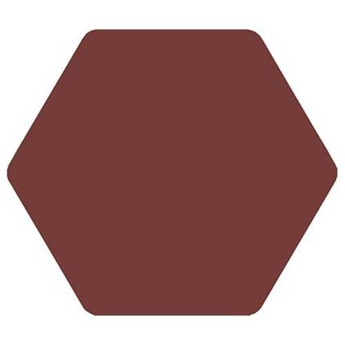 Carrelage tomette bordeaux 25x29cm TOSCANA MORADO- 1m² - zoom