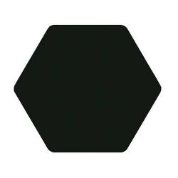 Carrelage tomette noir 25x29cm TOSCANA NEGRO- 1m²