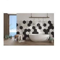 Carrelage tomette noir 25x29cm TOSCANA NEGRO - 1m² - As de Carreaux