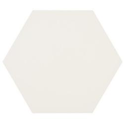 Tomette blanche MERAKI BASE BLANCO 19.8x22.8 cm - 0.84m²