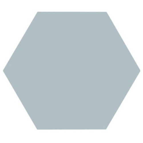 Tomette unie bleue série dandelion MERAKI AGUAMARINA BASE 19.8x22.8 cm - 0.84m² Bestile