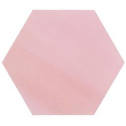 Tomette unie rose série dandelion MERAKI ROSA BASE 19.8x22.8 cm - 0.56m² Bestile