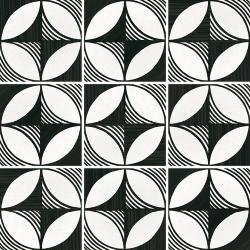 Carrelage imitation ciment 20x20 cm CAPRICE DECO COMPASS B&W 22123- 1m² Equipe