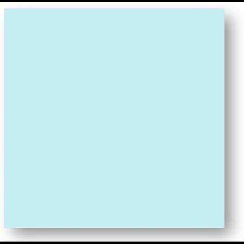 Faience colorée bleu clair Carpio Azul brillant ou mat 20x20 cm - 1m² - zoom