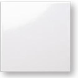 Faience colorée Carpio blanc brillant 20x20 cm - 1m²