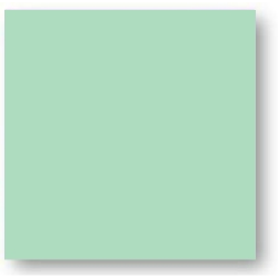 Faience colorée vert clair Carpio Verde brillant ou mat 20x20 cm - 1m² Ribesalbes