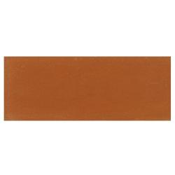 Plinthe de carreau de ciment véritable unie BRIQUE 10x20 cm - 4mL