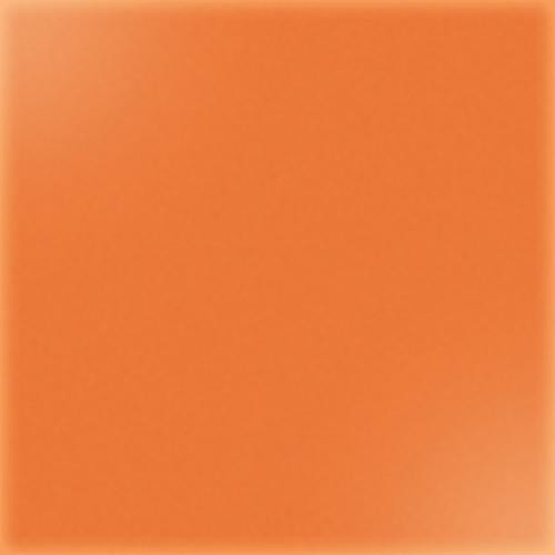 Carrelage uni 20x20 cm orange brillant ARENARIA - 1.4m² CE.SI