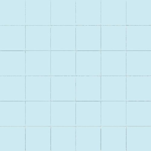 Carrelage uni 5x5 cm AZZURO MATT sur trame - 1m² - zoom