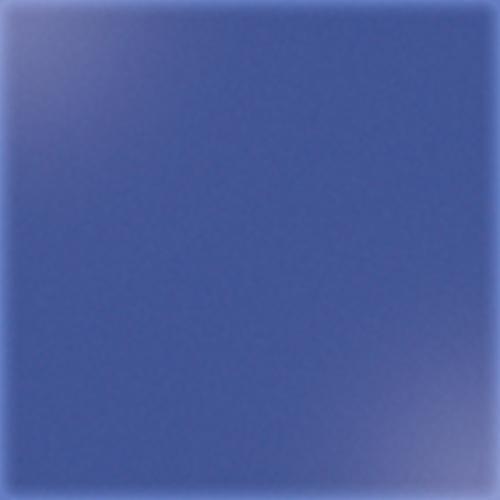 Carrelage uni 5x5 cm bleu brillant BERILLO sur trame - 1m² - zoom