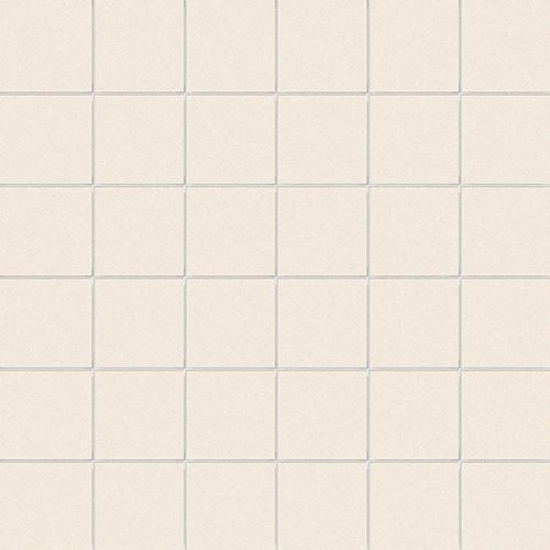 Carrelage uni beige 5x5 cm COTONE MATT - 1m² - zoom