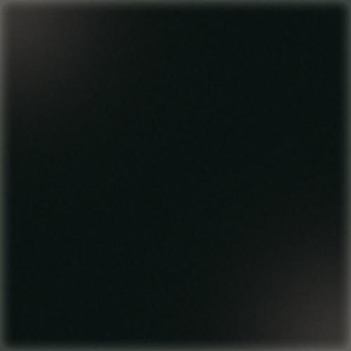 Carrelage uni 5x5 cm noir brillant LAVA sur trame - 1m² CE.SI