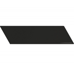 Chevron Wall black brillant ou mat 18,6x5,2 cm - 0.5m²